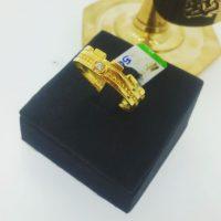 แหวน มงกุฎฝังพลอยขาว