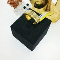 แหวน แว๊บตัดลายชุบทองคำขาว