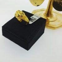 แหวน แฟนซีหัวใจตัดลายจิกเพชรข้าง