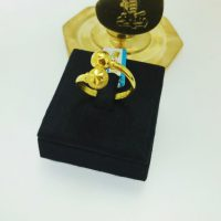 แหวน ตุ้มทองไขว้