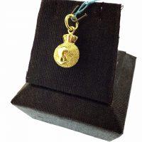 จี้ถุงทอง
