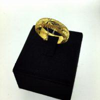 แหวนลูกคิดจิกเพชร