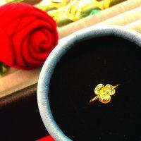 แหวน ดอกไม้
