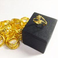 แหวน 1 กรัม ดาวคู่